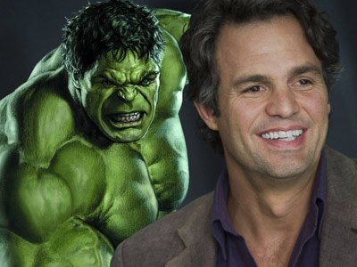 Actor Mark Ruffalo, who will reprise his role as Bruce Banner aka Hulk ...